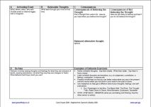 Primary Care Psychology » Worksheets